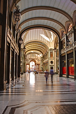 Galleria San Federico in central Turin, Piedmont, Italy, Europe