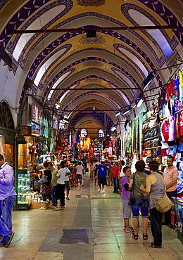 Grand Bazaar (Great Bazaar) (Kapali Carsi), Istanbul, Turkey, Europe, Eurasia