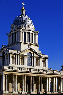 Royal Naval College by Sir Christopher Wren, UNESCO World Heritage Site, Greenwich, London, England, United Kingdom, Europe