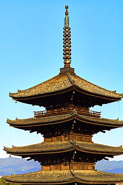 Yasaka Pagoda in Gion, Higashiyama, Kyoto, Japan, Asia