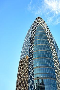 Mode Gakuen Cocoon Tower Skyscraper in Nishi-Shinjuku business district, Tokyo, Japan, Asia