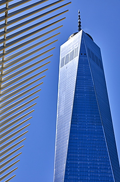 One World Trade Center in New York City, New York, United States of America, North America