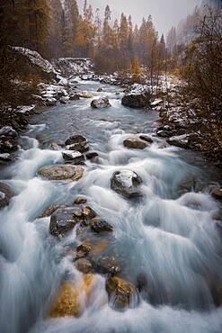 Waters of the La Tin?e river, Tin?e valley, Mercantour National Park, Alpes-Maritimes, France