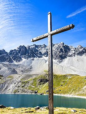 Lac Sainte Anne, GR5 trail, PNR Queyras, Ceillac, Alpes, France