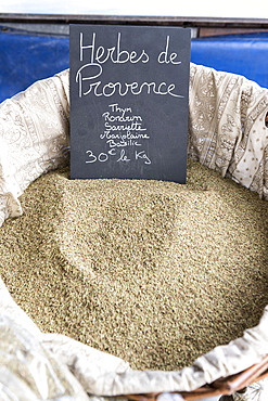 Herbes de Provence on a summer market, Provence, France