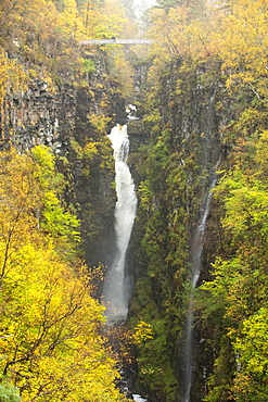 Corrieshalloch Gorge near Ullapool, Highlands, Scotland, UK.
