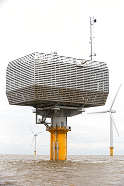 Gunfleet Sands offshore wind farm, including the sub station is owned and operated by Dong energy. It consists of 48 turbines off Brightlingsea in essex, UK, and has a capacity of 172 MW, enough to power 125,000 homes