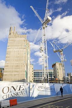 New development near the Bank of England in London, England, United Kingdom, Europe