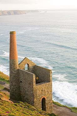 Wheal Coates mine, UNESCO World Heritage Site, St. Agnes in Cornwall, England, United Kingdom, Europe