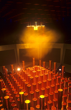 A mockup of a nuclear reactor at the Sellafield Visitor Centre at Sellafield nuclear power station, Cumbria, England, United Kingdom, Europe