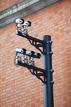 CCTV cameras in Earls Court, London, England, United Kingdom, Europe