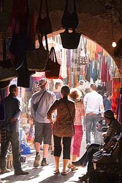 A souk in Marrakech, Morocco, North Africa, Africa