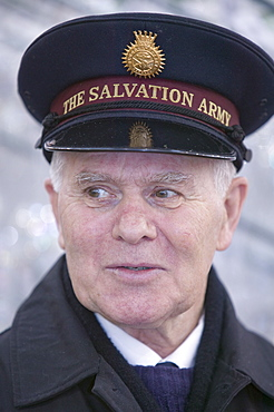 A Salvation Army member, United Kingdom, Europe