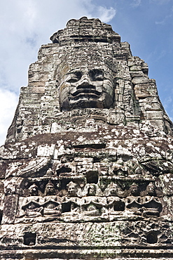 The Bayon, Angkor Thom, Angkor, UNESCO World Heritage Site, Siem Reap, Cambodia, Indochina, Southeast Asia, Asia