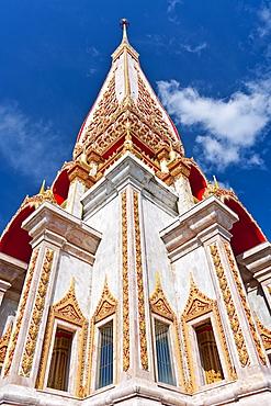 Karon Beach, Buddhist Temple, Phuket Island, Phuket, Thailand, Southeast Asia, Asia