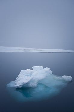 Fragmented Ice. Longyearbyen, Svalbard, Norway