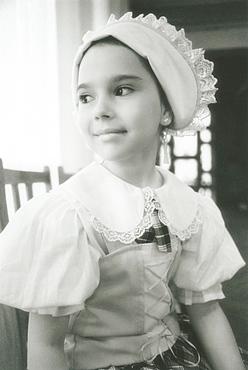 2008; Local Russian girl in traditional clothes, City of Provideniya (Chukotskiy Peninsular ) Russia,  Asia