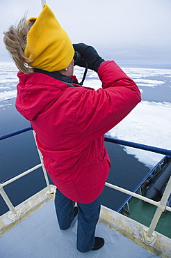 boat, cruise. tourists, arctic sheet ice. Longyearbyen, Svalbard, Norway