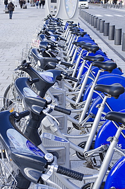 Bicycle hire in Marseille, Provence, France, Europe