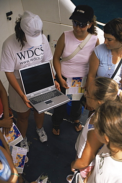 Education trip for local Azorean Children part-funded by WDCS. Azores