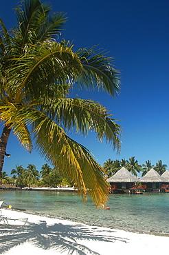 Intercontinental Tahiti Hotel beach apartments, Tahiti, French Polynesia.