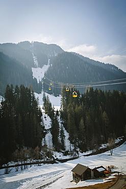Piz La Villa from La Villa, Alta Badia, Dolomites, UNESCO World Heritage Site, South Tyrol, Italy, Europe