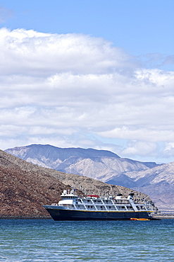The Lindblad expedition ship National Geographic Sea Lion from around the Gulf of California (Sea of Cortez) and the Baja Peninsula, Mexico.