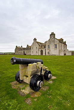Skaill House, a merchants house and museum near Skara Brae, a Neolithic village constructed in 3,100 BC, Orkney Islands, Scotland