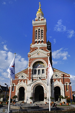 Basilica of Notre Dame de Brebieres, Albert, Somme, France, Europe