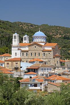 Church of the Holy Trinity, Pagondas, Samos, Eastern Sporades, Greek Islands, Greece, Europe